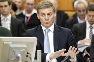 Finance Minister Bill English said that figure was very optimistic. Photo / Mark Mitchell