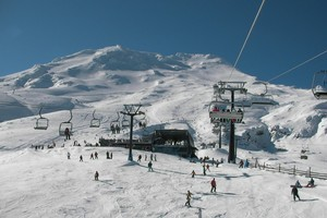 Action on Mt Ruapehu. Photo / Supplied