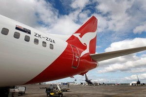 A Qantas Boeing 737-800. Photo / file