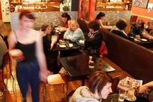 Revel Cafe, Karangahape Rd. Photo / Steven McNicholl