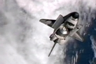 A U.S. space shuttle has pulled up for the last time at the International Space Station. Emotions were running high, in orbit and on Earth, as Atlantis arrived at the space station.