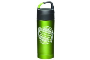Kathmandu vacuum carabiner bottle, $49.98. Photo / Supplied