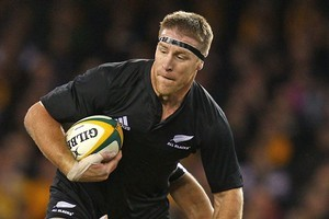 Brad Thorn leads the way for the older All Blacks at 36. Photo / Getty Images