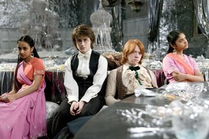 Daniel Radcliffe and Rupert Grint as Harry Potter and Ron Weasley in a scene from Harry Potter and the Goblet of Fire. Photo / Supplied