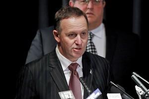 Prime Minister John Key. Photo / Getty Images
