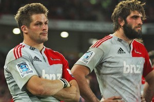 Crusaders captain Richie McCaw was too magnanimous to offer travel fatigue as an excuse for defeat. Photo / Getty Images