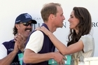 Prince William, with his new wife watching, scored four goals in a charity a polo match in Southern California. Hundreds of well-heeled royal watchers traveled long distances and paid expensive ticket prices to attend the charity event.