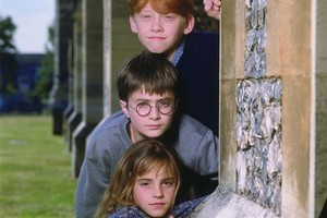 Rupert Grint, Daniel Radcliffe and Emma Watson have grown up a lot since the first Harry Potter film. Photo / Supplied