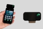 Re - a plug in IR transmitter for the iPhone comes with an app that turns your phone, iPod touch or iPad into a universal remote. Photo / Supplied