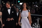 British royalty mixed with Hollywood royalty at a black-tie event in Los Angeles on Saturday.