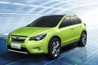 Subaru's new XV crossover will be trialled on Kiwi roads this year. Photo / Supplied