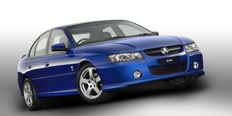 2004 VZ Holden Commodore SV6. Photo / Supplied