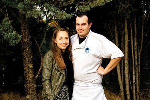 Jennifer Henriksen and Julien Lavandet from restaurant Table de Julien. Photo / Babiche Martens