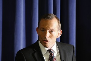 Australian Opposition leader Tony Abbott. Photo / Getty Images