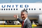 Jeff Smisek says that the airline sector is in a much stronger position than three years ago. Photo / Bloomberg