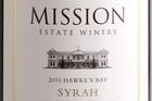 Mission Estate Hawkes Bay Syrah 2009 $16.50. Photo / Babiche Martens