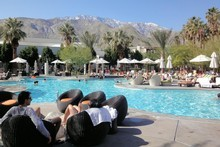 Almost half of Palm Springs' residents are homosexual men or lesbians and months of controversy followed the police operation. Photo / Supplied