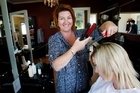 Hairdresser Jeanette Cork is confident about KeraStraight. Photo / Christine Cornege
