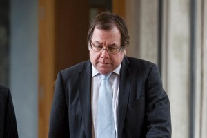 Minister for Sport & Recreation Murray McCully. Photo / Mark Mitchell