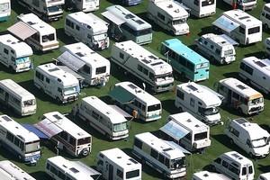 Motor caravans are a way of travelling with freedom, but there are still rules to follow. Photo / Bay of Plenty Times