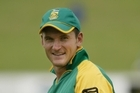 This will be Graeme Smith's last chance to lead a winning team in an ICC event. Photo / Greg Bowker