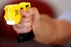 A Taser stun gun. Photo / Christine Cornege