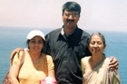 Hiren Mohini with his family. Photo / Supplied