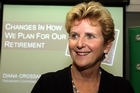 Diana Crossan wants greater financial literacy for all Kiwis. Photo / APN