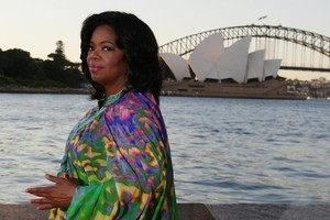 Oprah Winfrey's visit is reported to have cost Tourism Australia $4.6 million. Photo / Getty Images