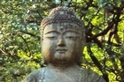 A Buddha in the forest. Photo / Supplied