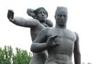 Earthquake memorial in Tashkent. Photo / Jim Eagles