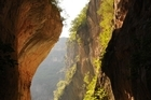 The chasm-like Green Gorge in Andalusia. Photo / Liz Light