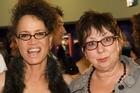 <i>Shortland Street</i> casting director Andrea Kelland (right), with Rena Owen. Photo / Matt Klitscher