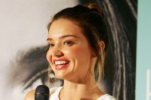 Australian supermodel Miranda Kerr gave birth to her first child on January 6th. Photo / Getty Images
