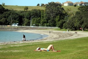 Auckland's Okahu Bay. Photo / Janna Dixon