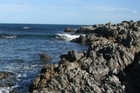 Rocks at Princess Bay. File photo / APN