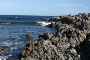 Rocks at Princess Bay. File photo / APN