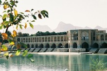 The Zayandeh River, which flows throw the central Iranian city of Isfahan, provides a romantic oasis for residents and tourists alike to visit. Photo / Jill Worrall