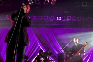The National have sold out three nights at Auckland's Powerstation. Photo / Mhairi-Clare Fitzpatrick cheeseontoast.co.nz