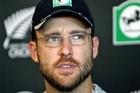 Black Caps skipper Daniel Vettori. Photo / Paul Taylor