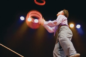 Clown Jamie Adkins does his thing in 'Circus Incognitus'. Photo / Supplied