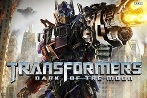 Cover for 'Transformers: Dark of the Moon'. Photo / Supplied