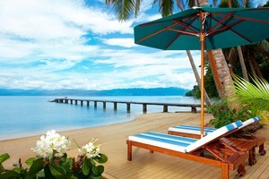 Jean-Michel Cousteau resort has been labelled the finest family resort in the South Pacific. Photo / Supplied