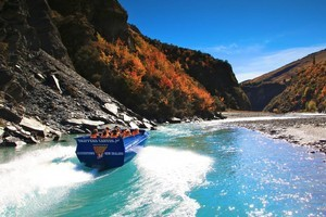 Jetboating through Skippers Canyon is a real thrill. Photo / Supplied