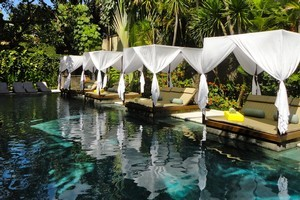 The pool at the Elysian in Bali beckons. Photo / Supplied