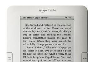 Amazon Kindle. Photo / supplied