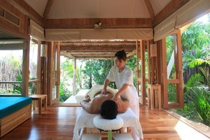 Soneva Kiri in the Gulf of Siam offers many different types of relaxing massages. Photo / Supplied