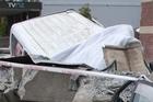 The white van that suspected Israeli spies were in. Photo / Simon Baker