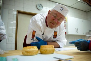 Baker Jean Philippe Jacquet is one of the judges faced with choosing New Zealand's best pie. Photo / Dean Purcell