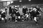 All Blacks face Newport at Rodney Parade in 1963. File photo / NZ Herald